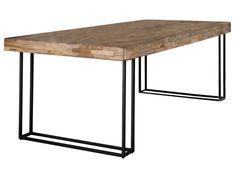 Stół Teca 240x100 cm drewniany » ZIJLSTRA - Sfmeble.pl Holland, Dining Bench, Furniture, Vintage, Design, Home Decor, Teak, The Nederlands, Decoration Home