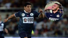 """Diego Maradona enojado: """"Mauro Icardi no debió jugar el Partido por la Paz"""" (VIDEO) #Depor"""