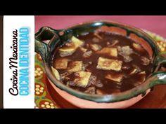Cómo hacer Sopa de Tortilla con Caldillo de Frijol. Yuri de Gortari - YouTube