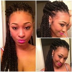 havana braids | havana twists  i adore these! Can be done crochet style too!