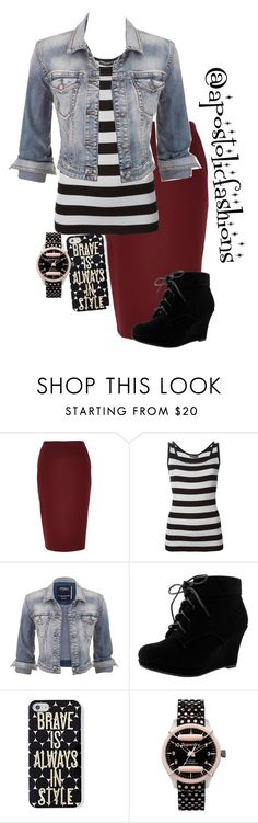 """Apostolic Fashions #1302"" by apostolicfashions on Polyvore featuring River Island, Dolce&Gabbana, maurices, Keds and Superdry"