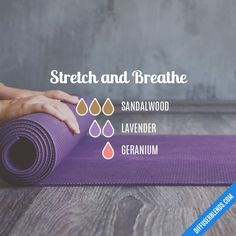 Stretch and Breathe - Essential Oil Diffuser Blend