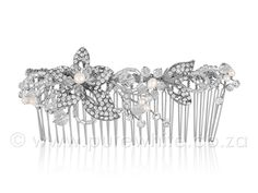 Ball Hairstyles, Vintage Hairstyles, Wedding Hairstyles, Vintage Hair Combs, Hair Comb Wedding, Pure White, Crystal Rhinestone, Fresh Water, Pure Products