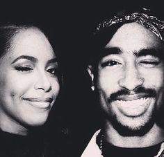 Aaliyah & Tupac