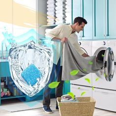 Do you know how dirty your washer is? 🤢🚽 This Washing Machine Cleaner will help purify your washer of all its hidden filth and bacteria! Washing Machine In Kitchen, Washing Machine Cleaner, Clean Your Washing Machine, Deep Cleaning, Cleaning Hacks, Cleaning Products, Tub Cleaning, Clean Washer, Washer Cleaner