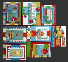Party Time Card Kit | Kim's Card Kits | Handmade Card Making Kit