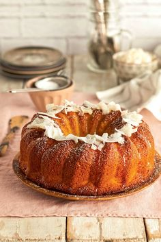 Cake Recipes, French Toast, Cupcakes, Breakfast, Chocolate Blanco, Desserts, Trifles, Tropical, Food