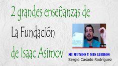 En este vídeo os hablo de la trilogía de La Fundación de Isaac Asimov y dos grandes enseñanzas que he sacado. Isaac Asimov, Word Search, Words, Book Reviews, Horse