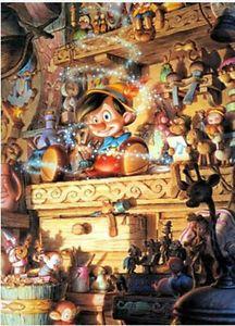 Disney Jigsaw Puzzle 1000 pcs Pinocchio Wish Star Tenyo JP 2004 rare Old Disney, Disney Mickey, Disney Art, Disney Pixar, Disney Jigsaw Puzzles, Pinocchio Disney, Puzzle 1000, Fan Art, Mickey And Friends