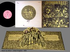I have a copy of this Jethro Tull album on vinyl with the pop-up feature. Brilliant idea!