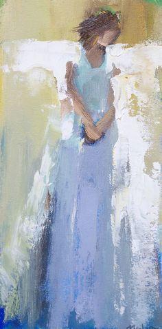 Anne Neilson - Anne Irwin Fine Art Three angels... | Angels ...