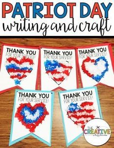 We created our sweet patriot banner with letters on back to send off to our heroes who defend and protect our country each day. We are celebrating Patriot Day this Friday at school and will honor our service men and women. This writing and craft banner is Veterans Day Activities, Holiday Activities, Holiday Crafts, Veterans Day For Kids, Patriots Day Activities, Memorial Day Activities, Gifts For Veterans, Classroom Crafts, Preschool Activities