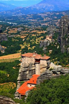 Meteora, Thessalia, Greece
