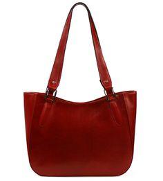 Kožená kabelka Luka 646 červená - iKabelka.cz | Elegantní kožené kabelky, za atraktivní ceny
