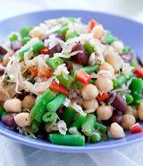 Three Bean Sauerkraut Salad