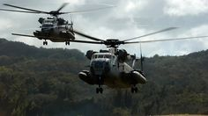 USMC CH-53Ds landing HD Wallpapers_042