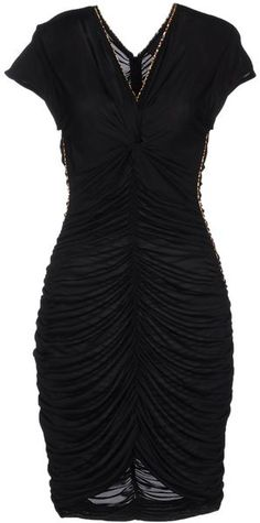 Black Draped Dress....gorgeous
