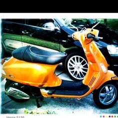 Cindy and Kelly's Vespa!!  2008 s150  photo by Cindy