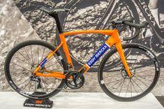 Nieuwe Merckx in oude kleuren. Gezien op Velofollies 2018