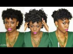 ▶ My First Bantu Knot-Outs + Styling (Natural Hair) - YouTube