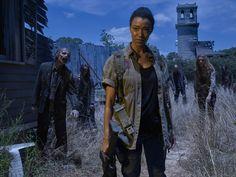 Sonequa Martin Green como Sasha – The Walking Dead _ temporada 6, Gallery – Photo Credit: Frank Ockenfels 3/AMC