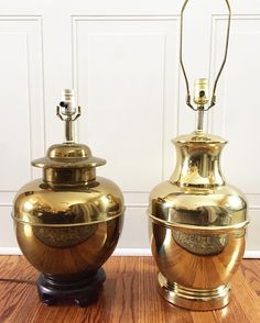 """93 Likes, 5 Comments - Maria Claire Interiors (@mariaclaireinteriors) on Instagram: """"Love these LARGE vintage brass ginger jar beauties! Heading to the shop, Or DM me if you're…"""""""