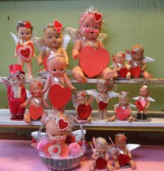 IMG_3684 Valentines Day Decorations, Valentine Ideas, Vintage Valentines, Love Valentines, Valentine Heart, Valentine Crafts, Holiday Crafts, Bee Do, Baby Doll Toys
