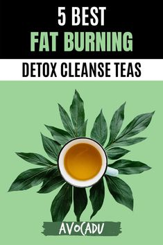 There are a lot of detox teas on the market--but not all of them really do the trick when it comes to burning fat. We'll share our top five best fat burning detox cleanse teas that actually work in our article here. #avocadu #detoxcleanse #fatburning #weightlosstea #detox #cleanse Weight Loss Tea, Weight Loss Detox, Detox Soup, Detox Tea, Get Skinny Fast, Best Detox, Lose Weight Quick, Yoga Tips, Good Fats