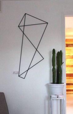 Large Metal Abstract Art Modern Metal by ModernGeometrix on Etsy