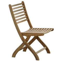 Set of 2 Cartagena Folding Chairs  by Highland Products $99. small house, small home, tiny house, tiny home, small spaces, small space living, folding, furniture, seating