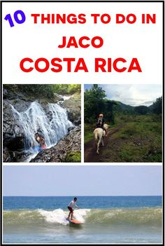 10 fun things to do in Jaco, Costa Rica even for the non surfer http://mytanfeet.com/costa-rica-beach-information/differences-between-tamarindo-and-jaco/