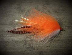Hey, I found this really awesome Etsy listing at https://www.etsy.com/listing/231197541/pike-candy-streamer-orange-pike-fly-and