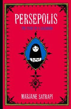 September Pick, as part of our ongoing Muslim Journeys Series, we will be reading this autobiographical graphic novel from Marjane Satrapi, about growing up in Iran.