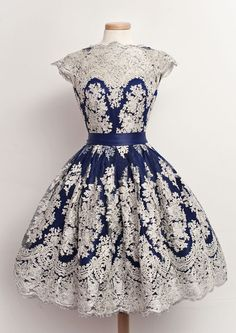 navy blue homecoming dresses,simple lace short prom dress,vintage dress for teens,semi formal dress