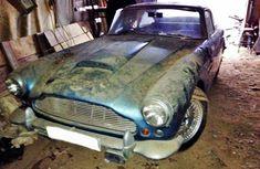 1961 Aston Martin DB4 Barn Find - http://barnfinds.com/1961-aston-martin-db4-barn-find/