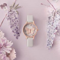 Olivia Burton Watches Online - My Fashion World 2019 Stylish Watches For Girls, Best Kids Watches, Trendy Watches, Cute Watches, Vintage Watches, Watches Photography, Olivia Burton, Cute Jewelry, Jewelry Bracelets