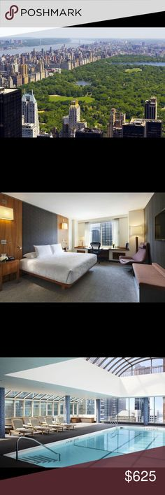 ❌SOLD❌🔥HOT DEAL 🔥3 Nights Parker Hotel NYC ***3 NIGHT STAY at Le Parker Meridian Hotel  🌎 in the heart of New York City located minutes from Central Park ,The Plaza Hotel, TAO Restaurant,  LAVO Restaurant and Nightclub, the best Nightclub in NYC and more!!! ❤️ If you are interested shopping no worries 😉 5th Avenue is a few minutes away! You'll encounter many name brand stores! And not to mention Macy's, the world's largest store,! 🙂 This is theeee place to find the best deals! 💕Offer…