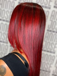 Red hair color Red Hair Color, Ruby Red, Long Hair Styles, Beauty, Long Hair Hairdos, Long Haircuts, Long Hair Cuts, Long Hairstyles, Long Hairstyle