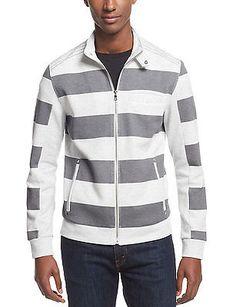 INC International Concepts Victor Stripe Jacket Men - Coats   Jackets -  Macy s ed059a190705
