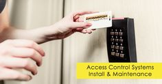 Investing in door access control systems / door entry systems is a proven way to ensure that your property or commercial premises are as secure as possible