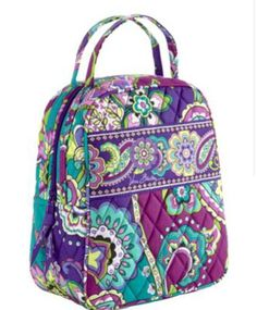 ef5b20df900d Vera Bradley Lunch Bunch (Heather) Slip pocket and a large zippered  opening