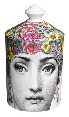 Face Time: Flora Small Scented Candle by Fornasetti