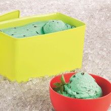 Tupperware - Sorvete Menta com Gotas de Chocolate