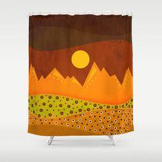 Color/Landscape 9 Shower Curtain by ViviGonzalezArt - $68.00