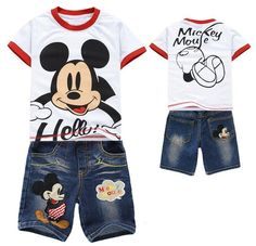 mickey mouse toddler short sets   Compare Boys White Jeans Kids-Source Boys White Jeans Kids by ...