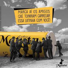 Marca ai os amigos que te ajudariam a carregar essa Matuta! o/  #CachaçaBrasileira #Inconfundível #SeBeberNãoDirija #Nordeste #Cachaça #EuSouMatuteiro #ParaMaioresDe18Anos #Brasil #CachaçaCristal #CachaçaBidestilada #Paraiba #Cristal