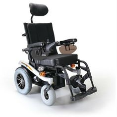Kp-31T : KARMA Power Wheelchair KP-31T The rear wheel drive Blazer is easy to handle indoors and fits hassle-free in a 3-person elevator. The active suspension offers great comfort with excellent terrain performance. Blazer is equipped with extremely strong drive motors that make a maximum speed of up to 10 km/hr possible. The power tilt in space does not affect the attractive low seat height and tilts up to 25°.  #wheelchair