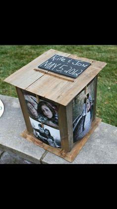 Alternative Wedding Post Box Idea