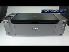 ▶ Canon Pixma Pro-100 Photo Printer Review plus samples - YouTube
