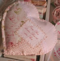 Lovely sewing idea !   new heart